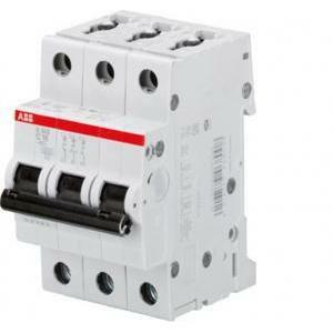 abb abb s203m d20 interruttore automatico  modulare 10ka 3 poli