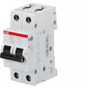 abb abb s202 c 6 interruttore automatico modulare 6ka 2 poli protezione e controllo dei circuiti contro i sovraccarichi s465502