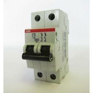 abb abb s202 c10 interruttore automatico modulare 6ka 2 poli s465700