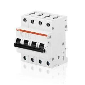 abb abb s204 c16 interruttore automatico modulare  6ka 4 poli  s529211