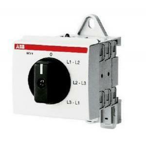abb abb mcv-4 commutatore voltmetrico 3p moduli eg 620 7