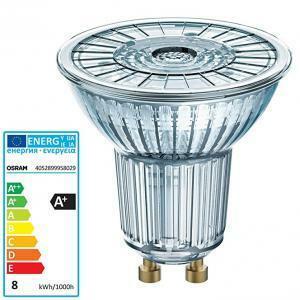 ledvance ledvance lampada led retrofit dimmerabile con riflettore par16 d8036 7.2w/840220-240vgu10fs1