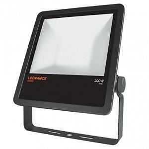 ledvance ledvance proiettore da esterno floodlight led ip65  integrata 200 watts faro nero
