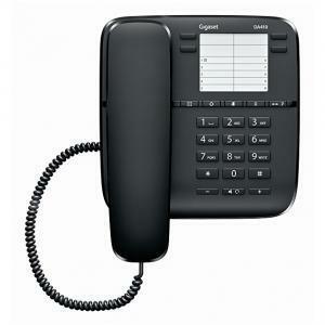 gigaset gigaset telefono a filo fisso white con vivavoce da410