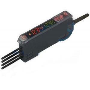 omron omron sensore- amplificatore per fibra ottica 2 display dig. 2m e3xhd412m