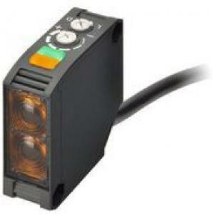 omron omron sensore fotoelettrico a sbarramento c.c./c.a. reflex 2.5m rele e3jkdr112m