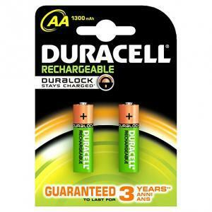 duracell duracell confezione 2 stilo ricaricabile value aa 1300mah hr6/valueaa