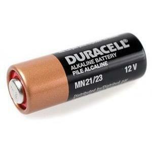 duracell duracell batteria 12v 12v, 33mah, alcalina mn21