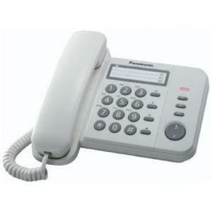 panasonic panasonic telefono fisso analogico kx-ts520ex1w