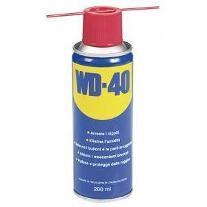 varie elettroniche varie elettroniche wd-40 lubrificante spray multifunzione 200ml anticorrosivo e sbloccante w020585410lubrificante
