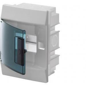 abb abb mistral41f centralino da incasso porta trasparente 6 moduli 41a06x12