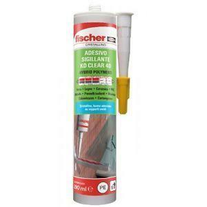 fischer fischer adesivo sigillante kd clear 40 cristallino 290ml 00534057