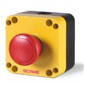 scame scame contenitore pulsante completo emergenza a rotazione top 22 590.pr01r4n