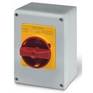 scame scame dispositivo comando emergenza ip65 32a 4 poli serie isolators 590.em3214