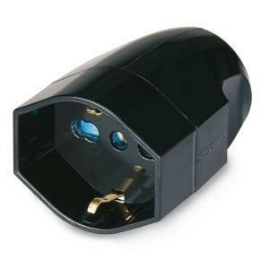 scame scame presa mobile con contatto di terra uscita assiale 2p+t 16a pluristandar 130.2085/n