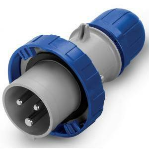 scame scame spina mobile cee serie optima 2p+t ip66/ip67 16a 6h per uso ndustriale 218.1633