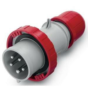 scame scame spina mobile volante 3p+n+t ip66/ip67 16a 6h cee  morsetti a vite 218.1637