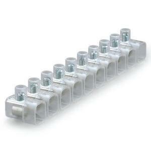 scame scame morsetto stecca 16mm trasparente per impianti interni giunzioni e derivazioni 812.379 morsetto 16mm