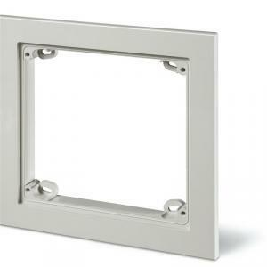 scame scame cornice serie omnia ip55 174x163x19 mm