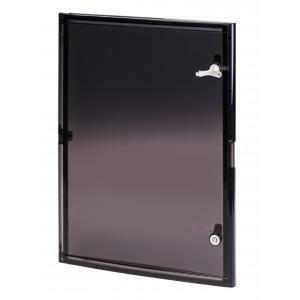 scame scame porta con finestra fume mis.4 per armadi quadri di distribuzione compatibili 655.0042