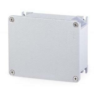 scame scame cassetta derivazione alubox 140x115x60 mm in lega di alluminio 653.01