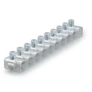 scame scame morsetto stecca 10mm trasparente per impianti interni giunzioni e derivazioni 812.378