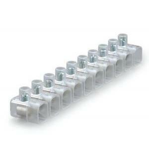 scame scame morsetto stecca 6mm dispositivo di connessione serie connecto 145x147 mm 812.376 morsetto a cappuccio
