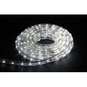 giocoplast tubo flessibile luminoso tubo 144 led con giochi luce, 1 metro, bianco 154 10730