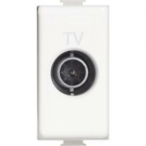 bticino presa tv passante 14db 1m bianco matix am5202p14