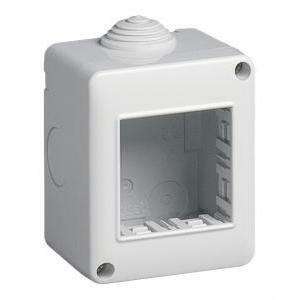 vimar contenitore ip40 3m idea/8000sp grigio serie idea 13033