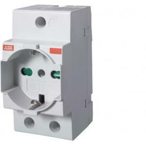abb m1170 presa italiana schuko bivalente standard italiano / tedesco m420274