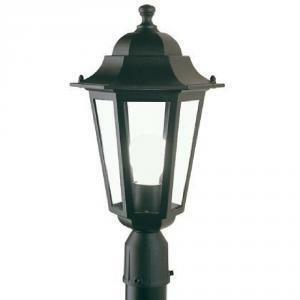 sovil illuminazione da esterni lampada lampione testa-palo d.60 esagonale dispositivo di connessione manicotto diametro 60 mmilluminazione da giardino