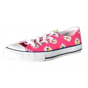 Converse ct print ox scarpe donna rosa tela 684827c