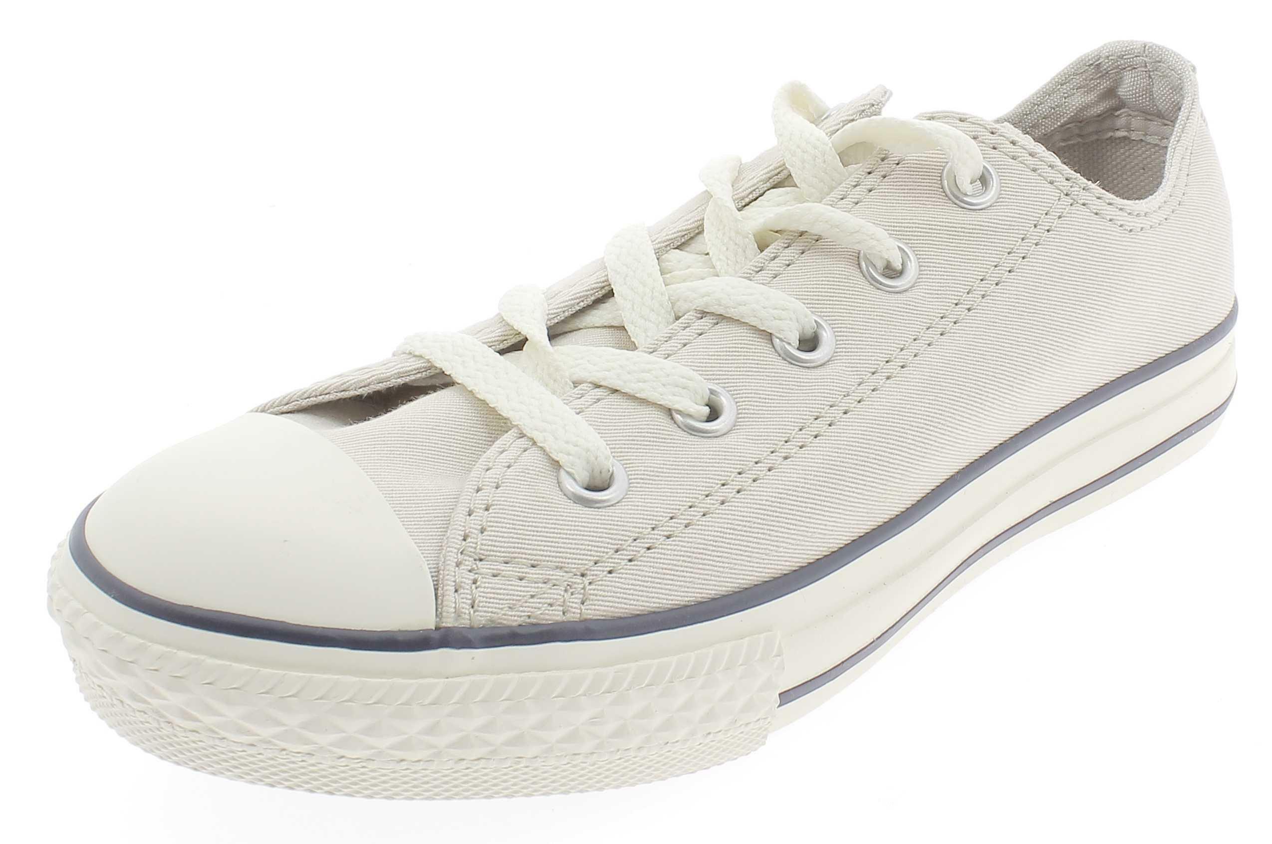 converse all star scarpe sneakers junior bassa low beige 630424c