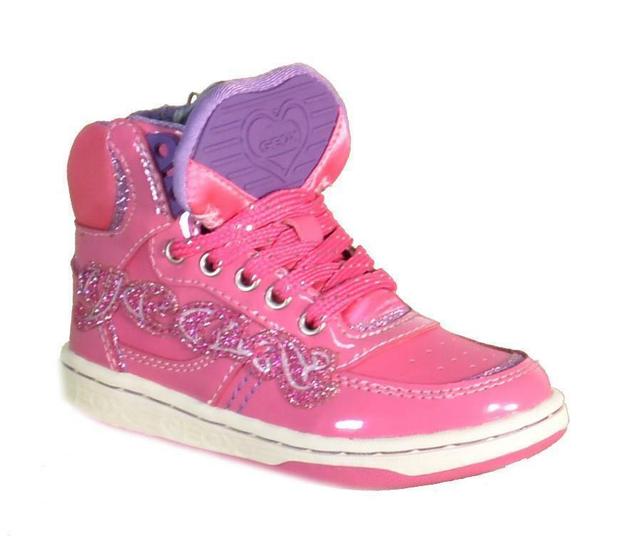 geox j maltin girl scarpe sportive bambina fuxia j4400b