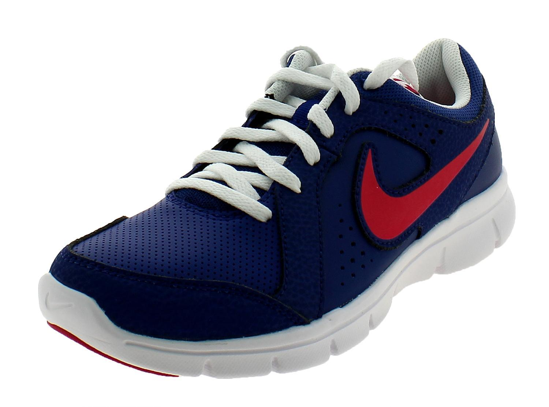 nike flex experience ltr gs scarpe sportive donna blu pelle 631465