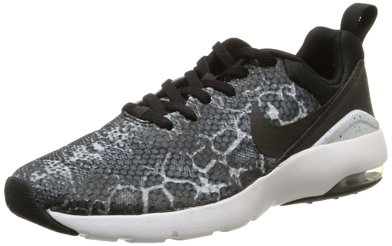 Detalles de Nike Wmns Air Max Sirena Impresiòn Negro Mujer Zapatos Deportivos Lona 74