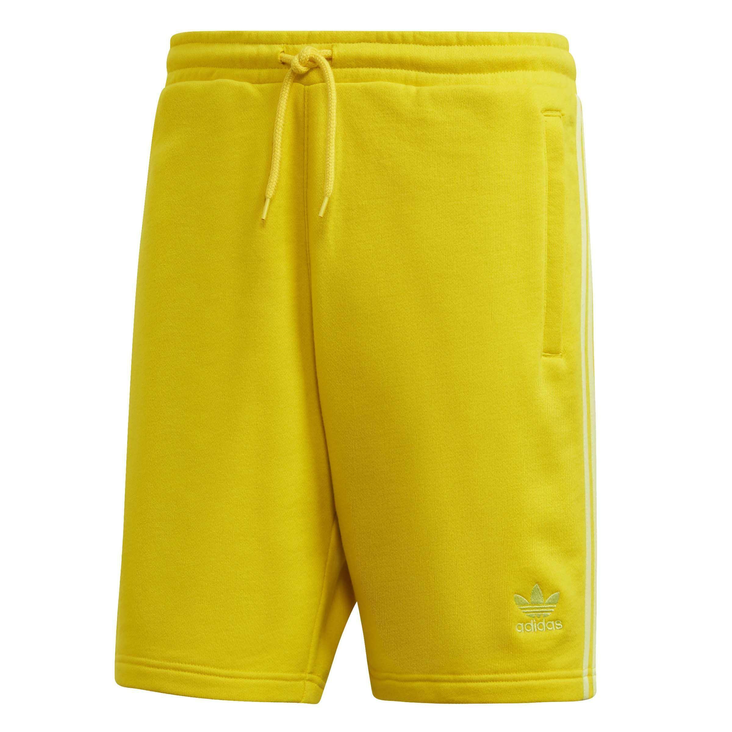 Uomo Ed6029 Gialli Adidas 3 Blc Pantaloncini Stripes 6f7vbyYg