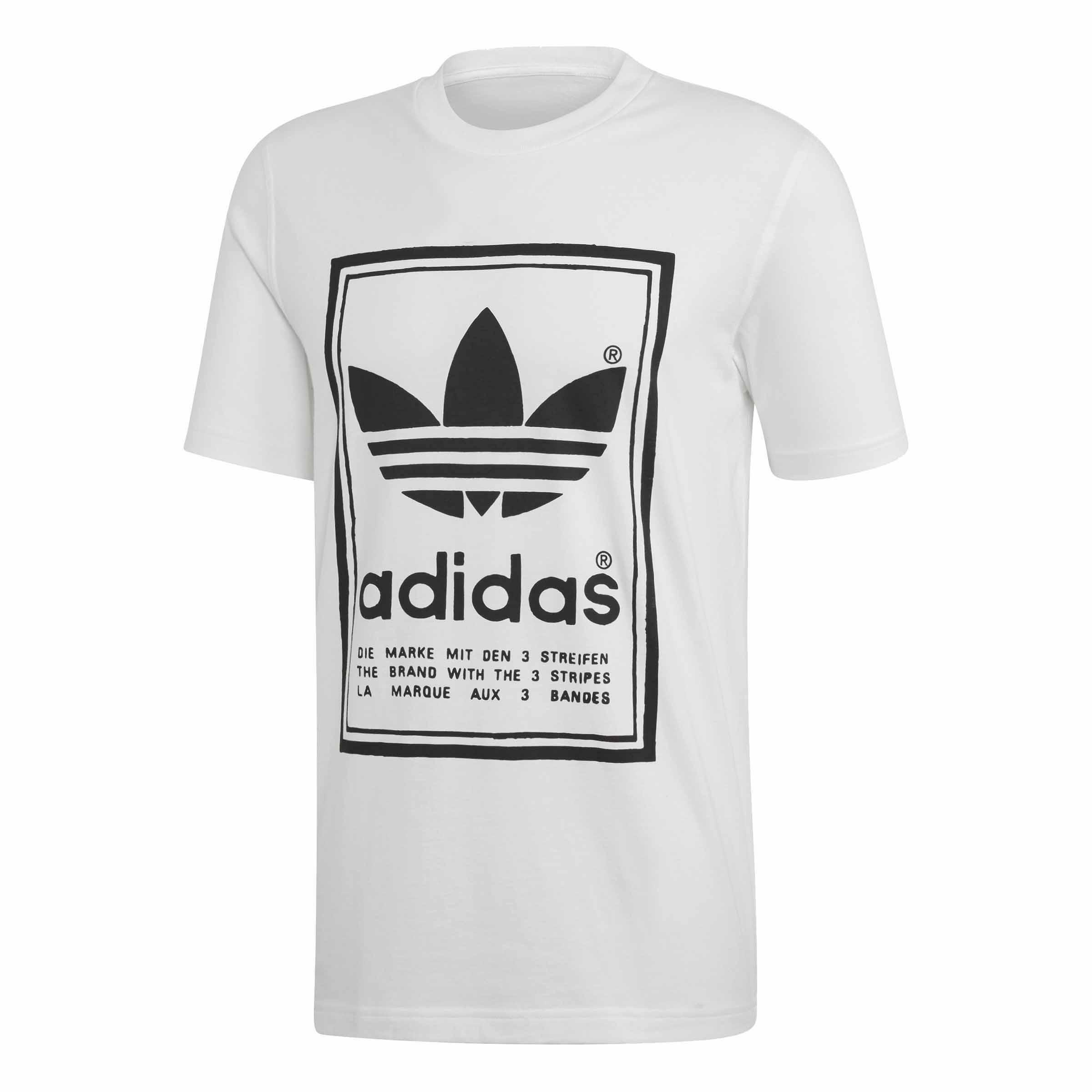 t shirt adidas uomo vintage