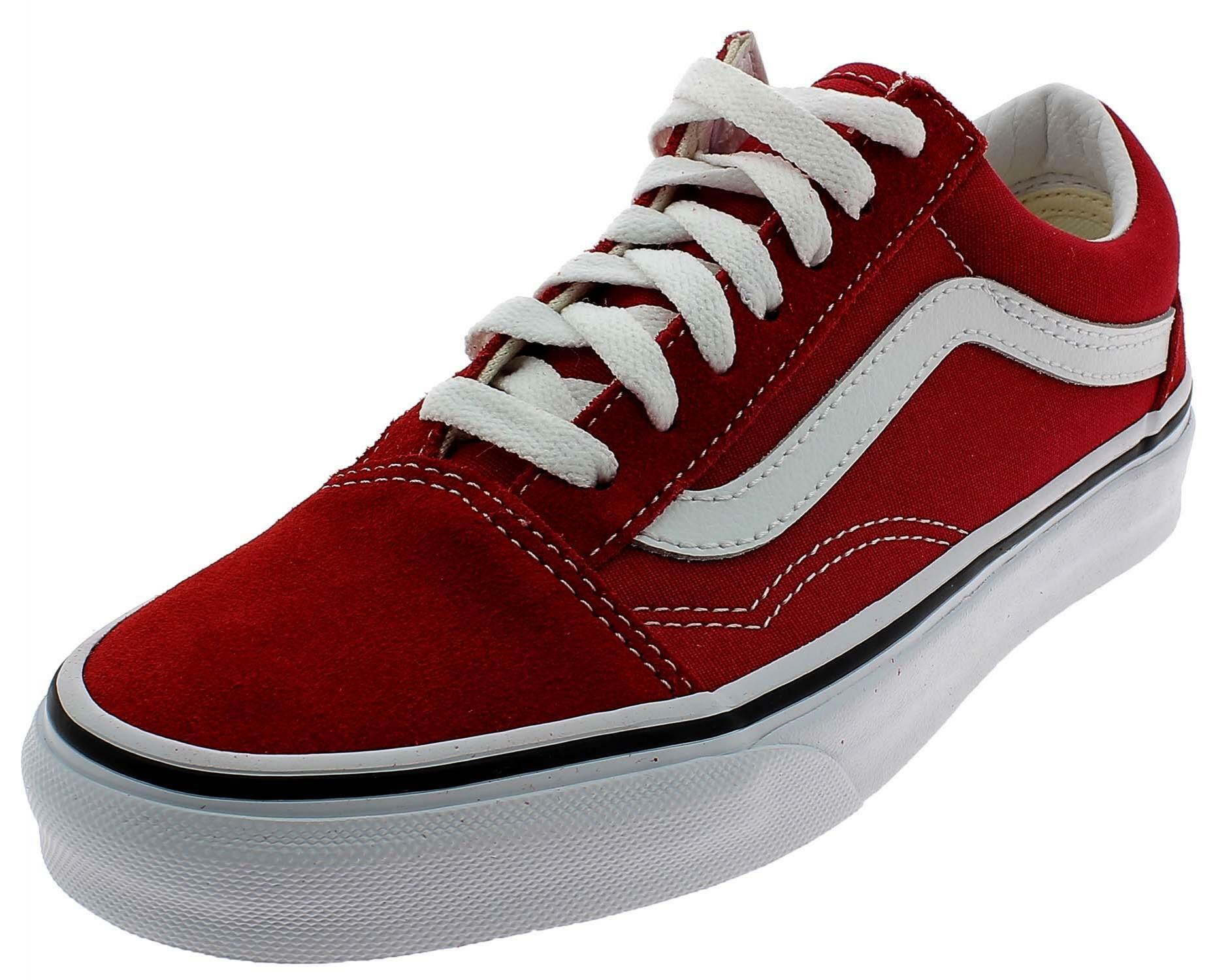 scarpe vans old skool rosse