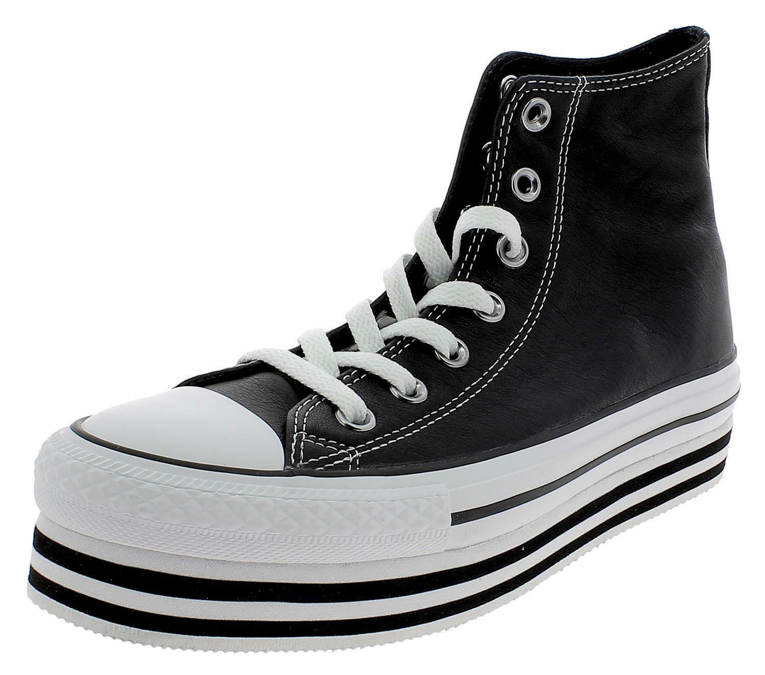 converse all star platform nere