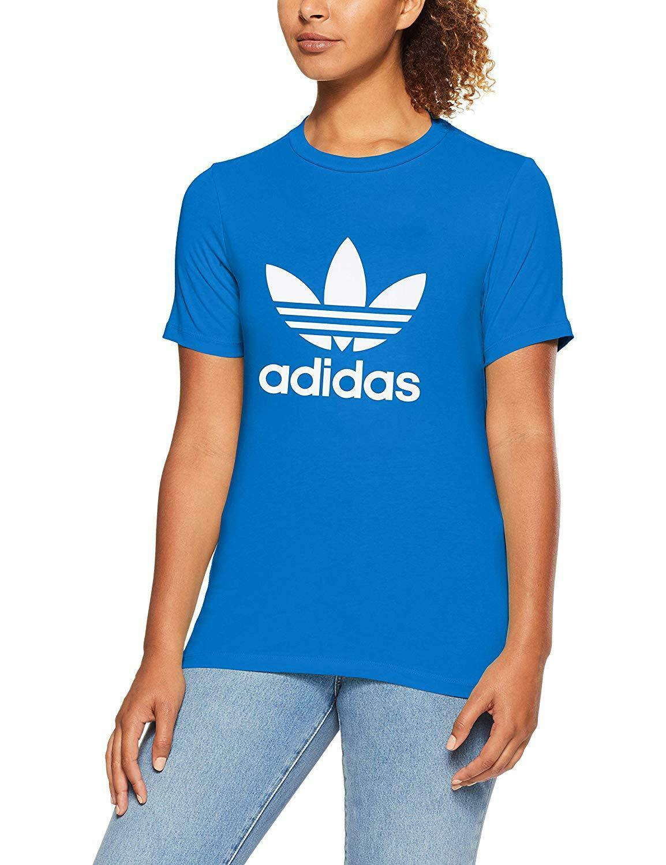 pantaloni adidas ragazza trefoil blu