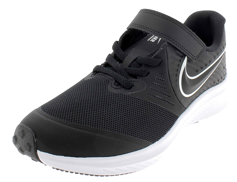 Nike star runner 2 scarpe sportive bambino nere at1801001