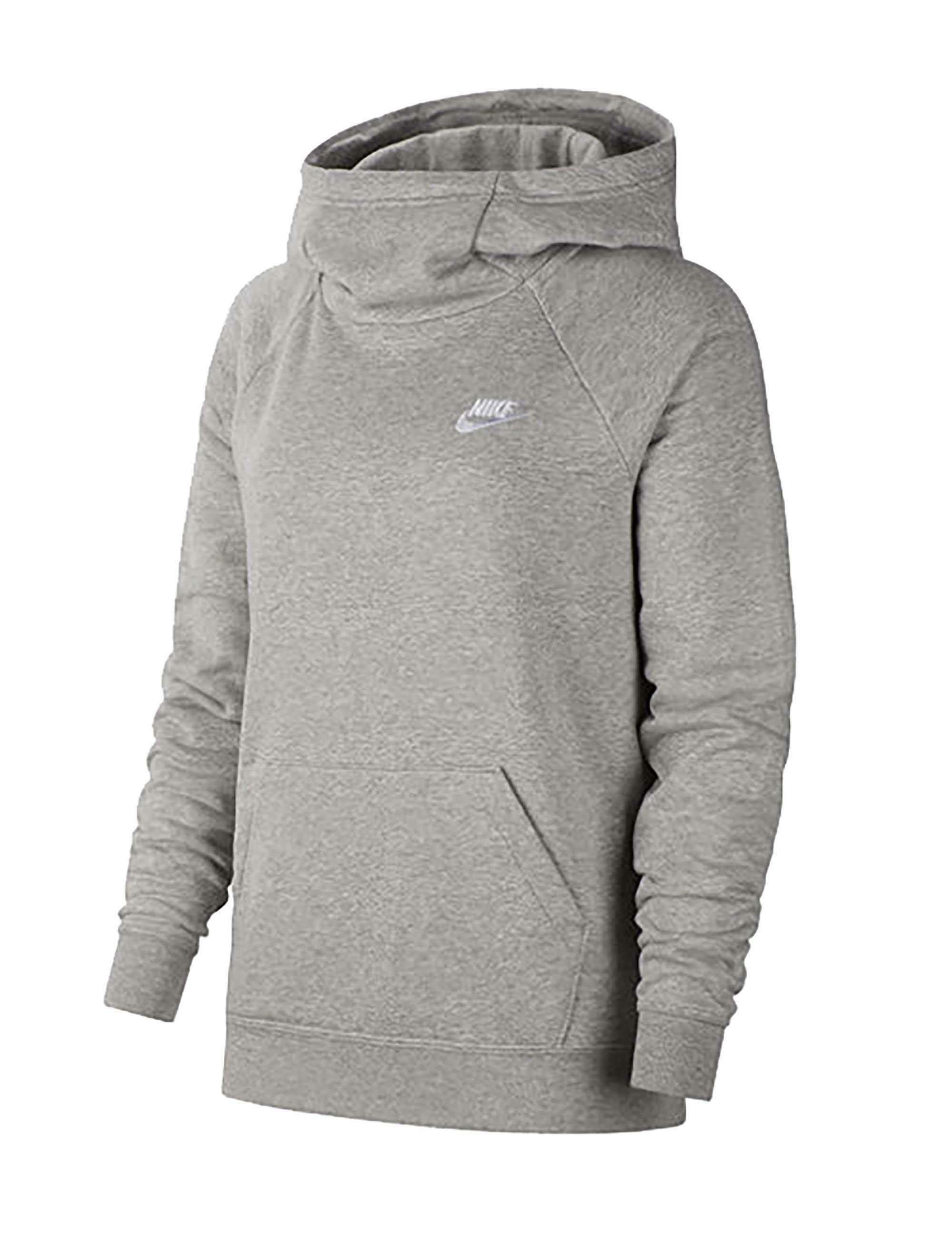 hoodie nike femme gris