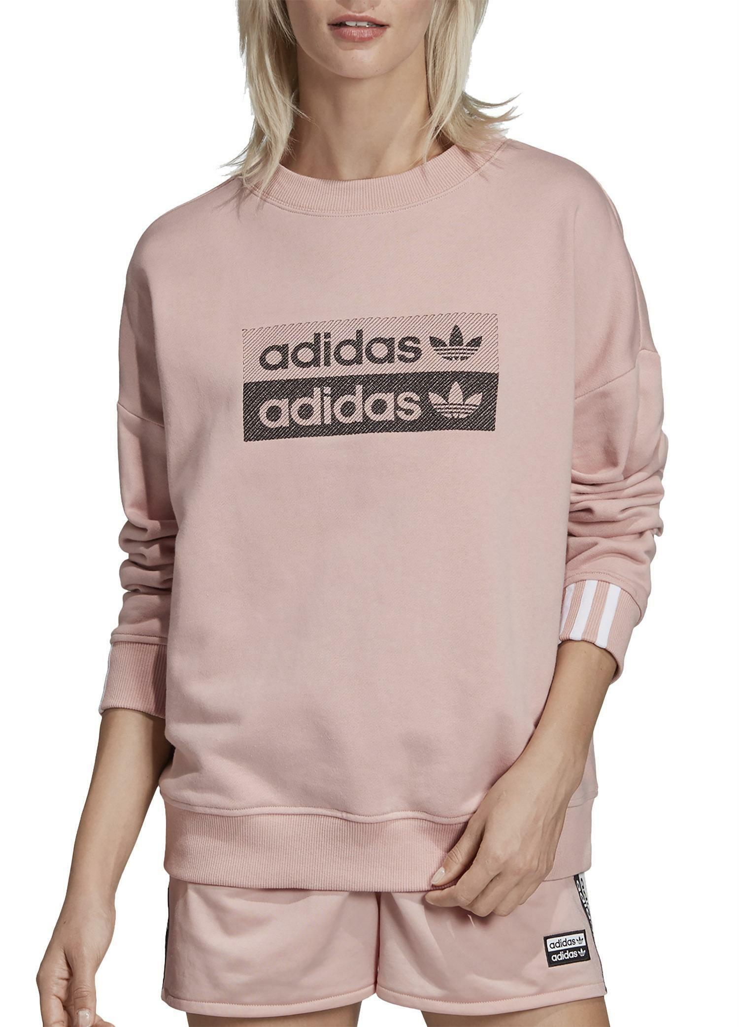 adidas felpa donna rosa