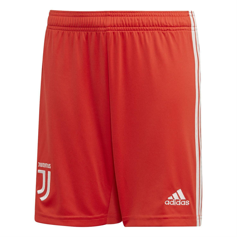Adidas juventus fc pantaloncini bambino rossi 20192020 dw5479