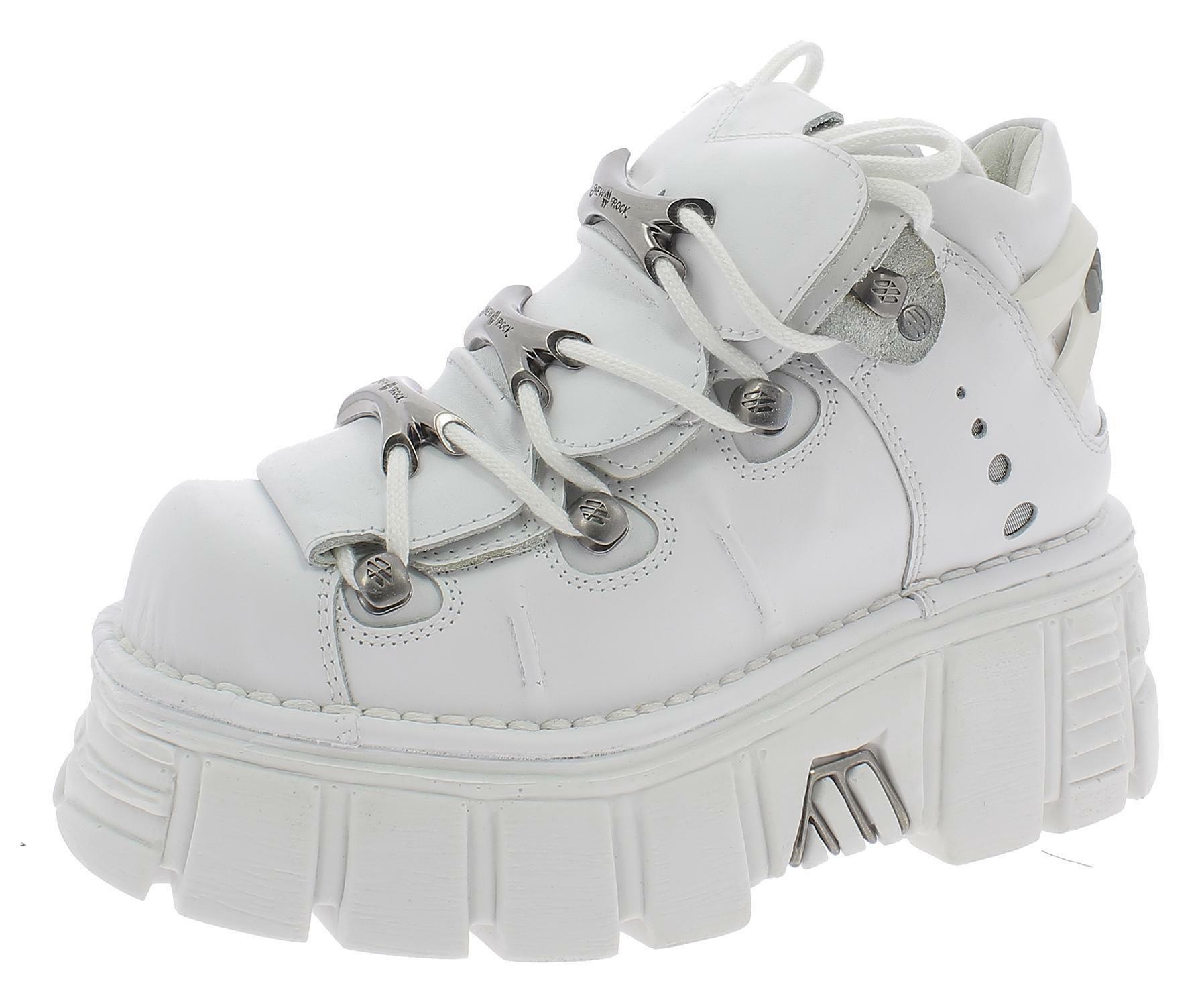 huge discount 50f72 f8ce4 New rock continental scarpe donna bianche m106c65