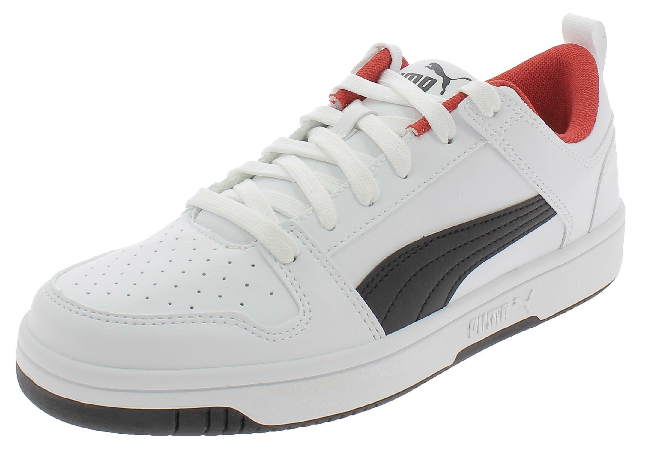 Puma rebound layup lo sl scarpe sportive uomo bianche 36986601