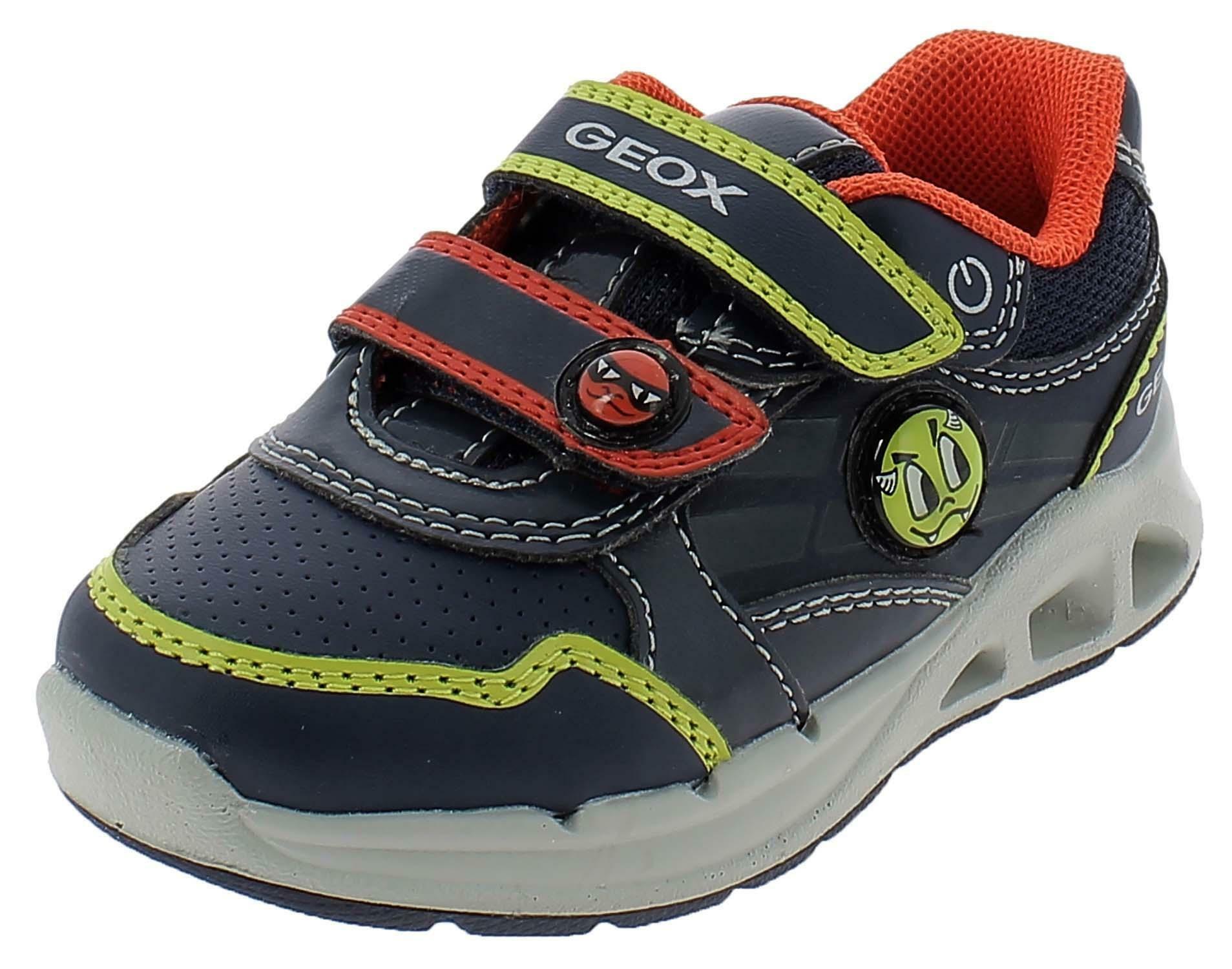 geox b dakin b scarpe sportive bambino blu b942pbc0749