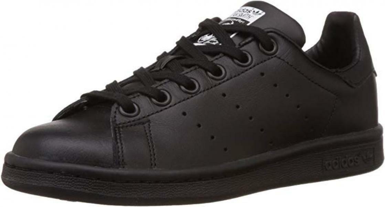 adidas stan smith j scarpe sportive bambino nere m20604